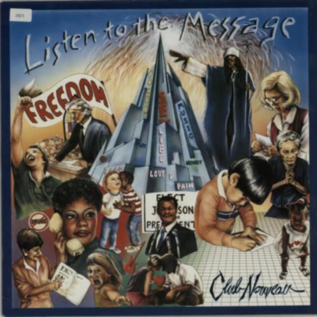 Club Nouveau LISTEN TO THE MESSAGE Vinyl Record
