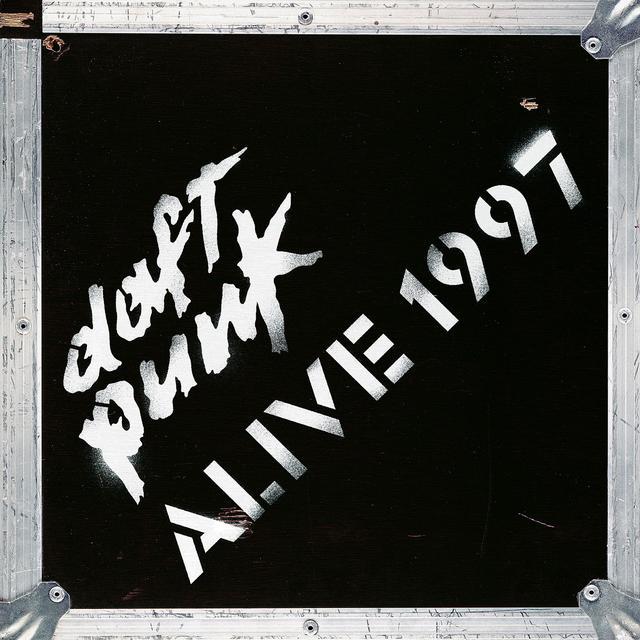 Daft Punk ALIVE 1997 Vinyl Record - 180 Gram Pressing, Reissue