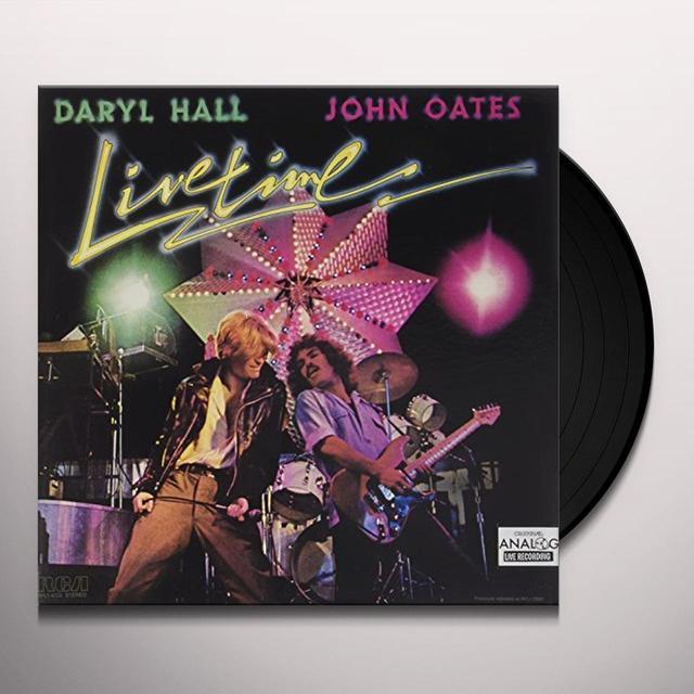 Hall & Oates LIVETIME - 1977 Vinyl Record