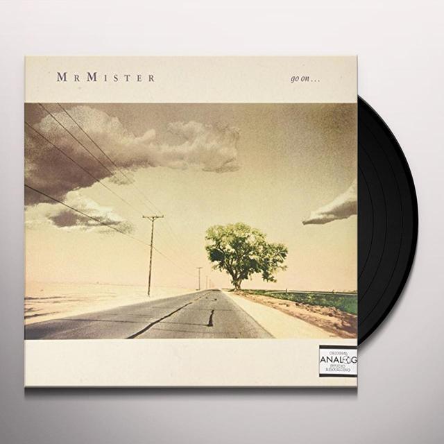 Mr. Mister GO ON (SOMETHING REAL) Vinyl Record