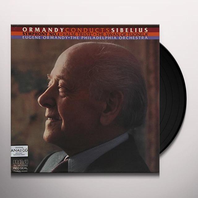 Sibelius / Eugene Ormandy SYMPHONY 1 / VALSE TRISTE / SWAN OF TUONELA Vinyl Record