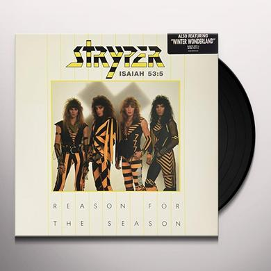 Stryper REASON FOR THE SEASON / WINTER WONDERLAND Vinyl Record