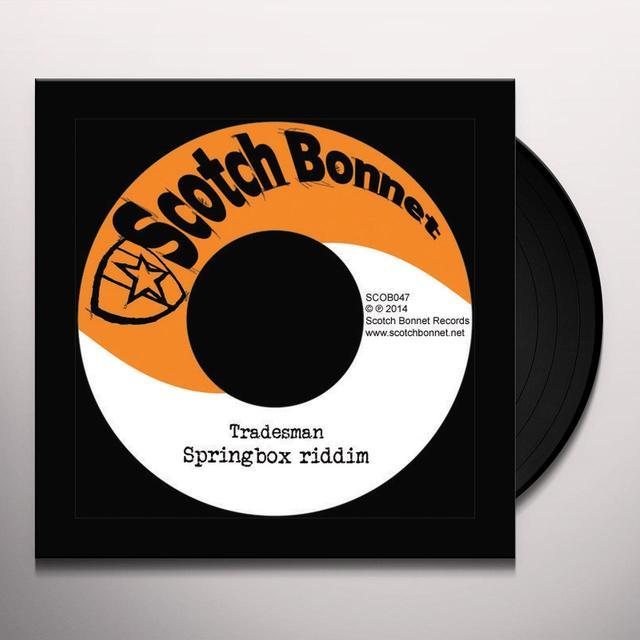 Tradesman SPRINGBOX RIDDIM Vinyl Record