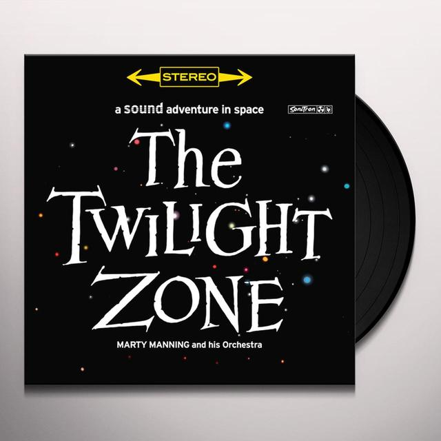 Marty Manning TWILIGHT ZONE Vinyl Record