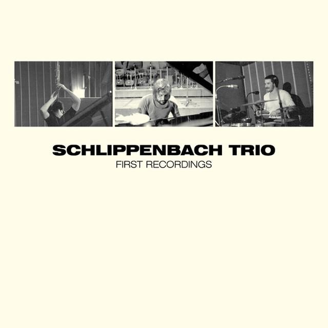 SCHLIPPENBACH TRIO FIRST RECORDINGS Vinyl Record