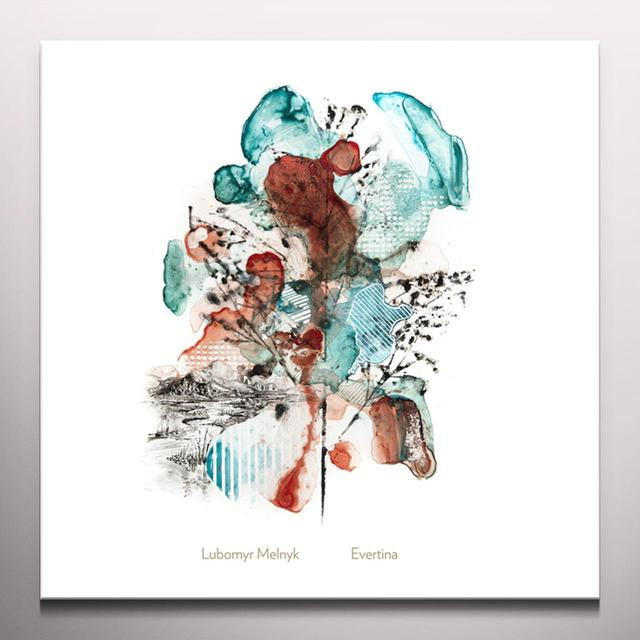 Lubomyr Melnyk EVERTINA Vinyl Record - 10 Inch Single, Clear Vinyl, Limited Edition, Digital Download Included