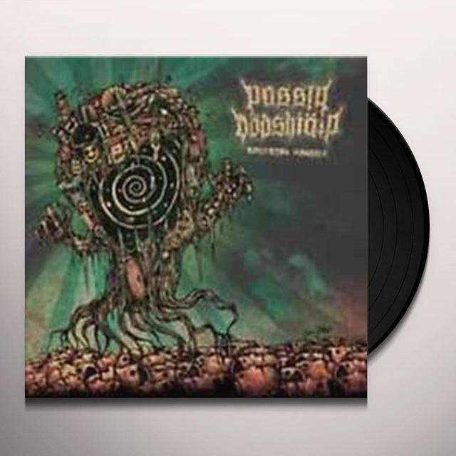 PASSIV DODSHJALP / IDIOT IKON SPLIT Vinyl Record