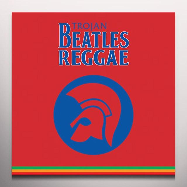 TROJAN BEATLES REGGAE: RED ALBUM / VARIOUS (RED) TROJAN BEATLES REGGAE: RED ALBUM / VARIOUS Vinyl Record - Red Vinyl