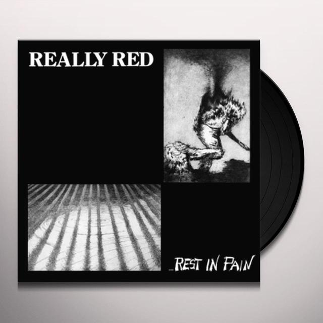 REALLY RED REST IN PAIN 2 Vinyl Record