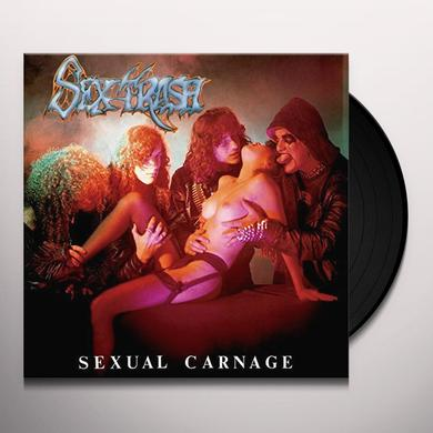 SEXTRASH SEXUAL CARNAGE Vinyl Record