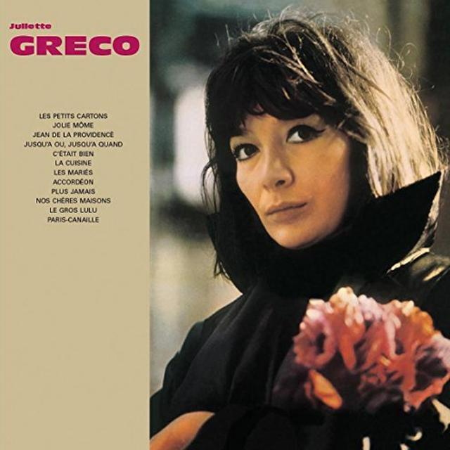 Juliette Gréco A L' A.B.C Vinyl Record