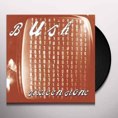 Bush SIXTEEN STONE Vinyl Record - Holland Import
