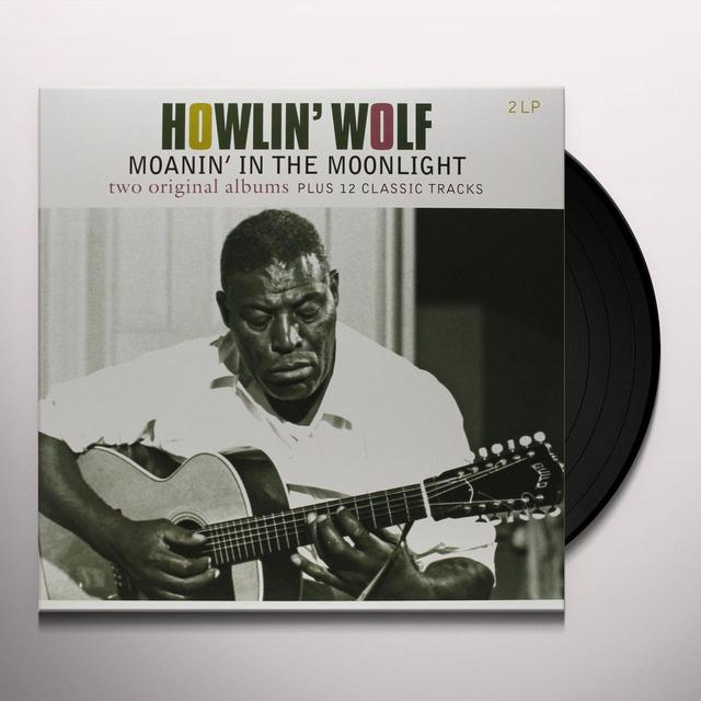 HOWLIN WOLF / MOANIN IN THE MOONLIGHT Vinyl Record - Holland Import