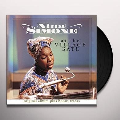 Nina Simone AT THE VILLAGE GATE Vinyl Record - Holland Import
