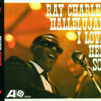 Ray Charles HALLELUJAH I LOVE HER SO Vinyl Record - Spain Release