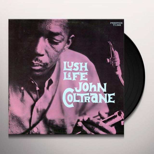 John Coltrane LUSH LIFE Vinyl Record - Spain Import