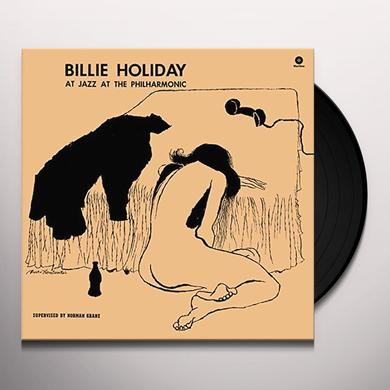 Billie Holiday AT JAZZ AT THE PHILARMONIC Vinyl Record - Spain Import