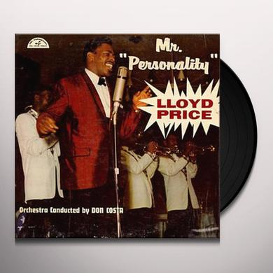 Lloyd Price MR PERSONALITY Vinyl Record