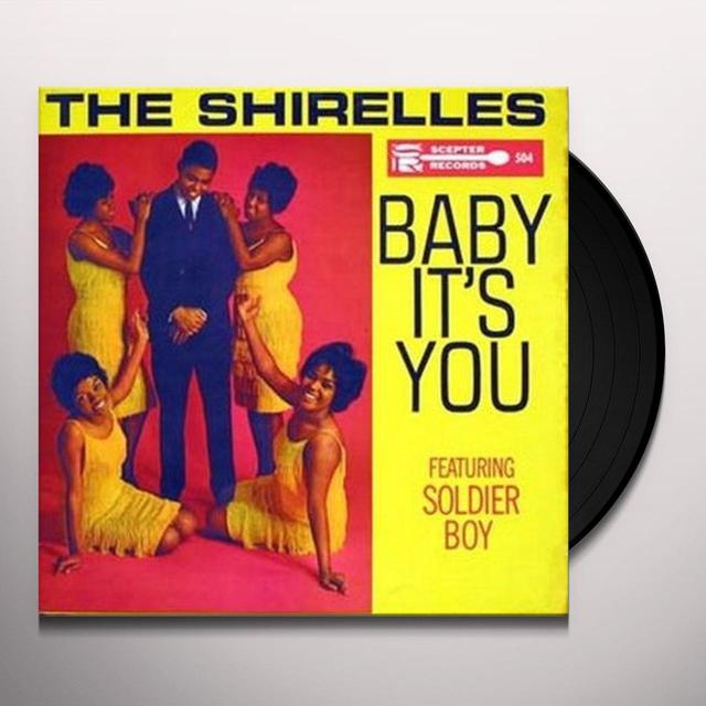 The Shirelles BABY IT'S YOU Vinyl Record - Spain Import