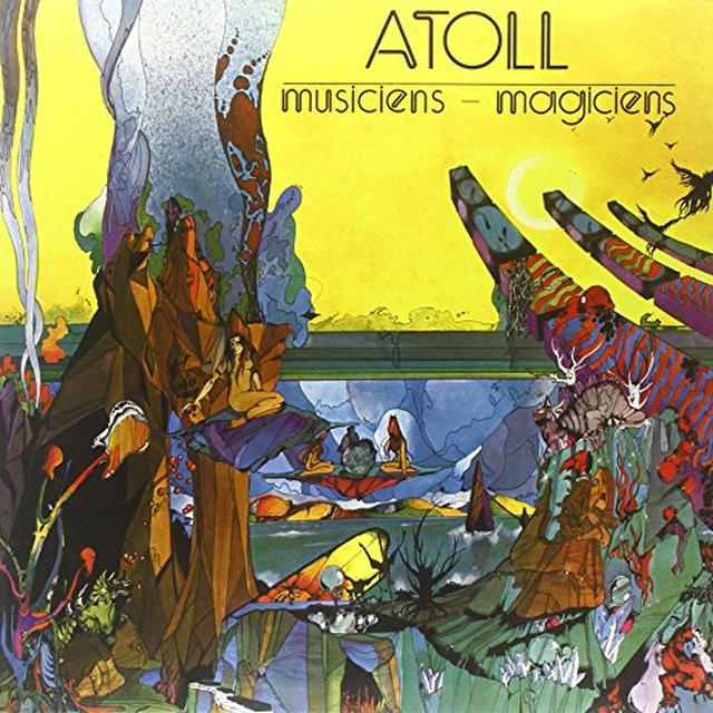 ATOLL MUSICIENS-MAGICIENS Vinyl Record - UK Import