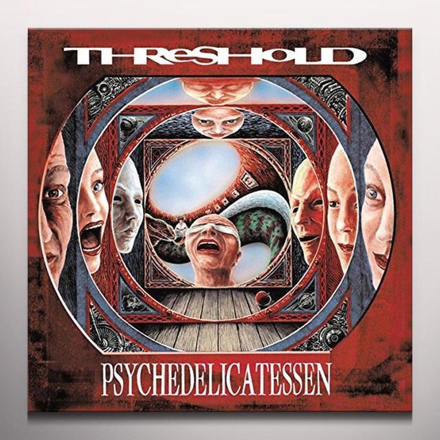 Threshold PSYCHEDELICATESSEN (SILVER VINYL) Vinyl Record - Colored Vinyl, UK Import