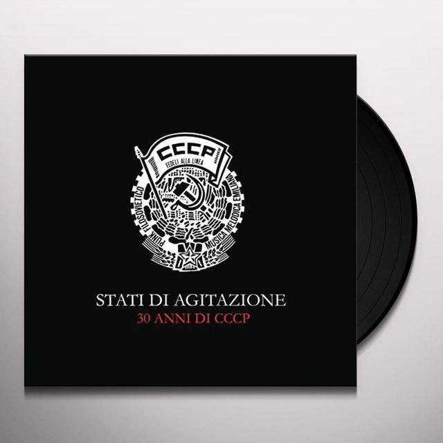 CCCP-FEDELI ALLA LINEA STATI DI AGITAZIONE: 30 YEARS OF CCCP Vinyl Record - Italy Import
