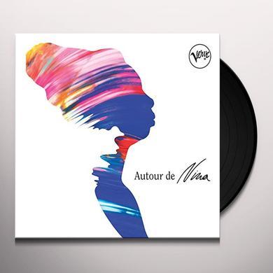 A TRIBUTE TO NINA SIMONE AUTOUR DE NINA VARIOUS ARTISTS Vinyl Record - UK Import