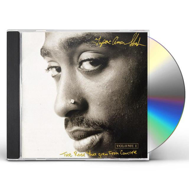 Tupac ROSE THAT GREW FROM CONCRETE CD