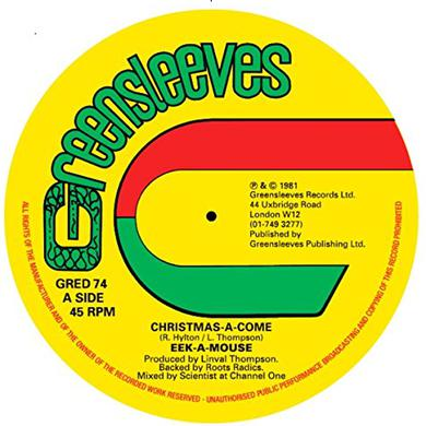 Eek-A-Mouse CHRISTMAS-A-COME Vinyl Record