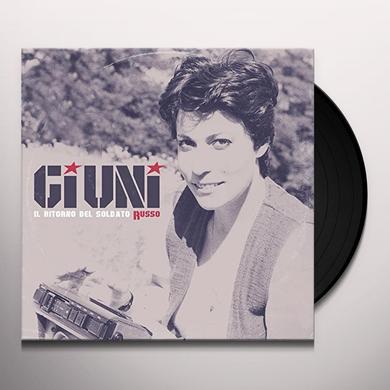 Giuni Russo IL RITORNO DEL SOLDATO RUSSO Vinyl Record