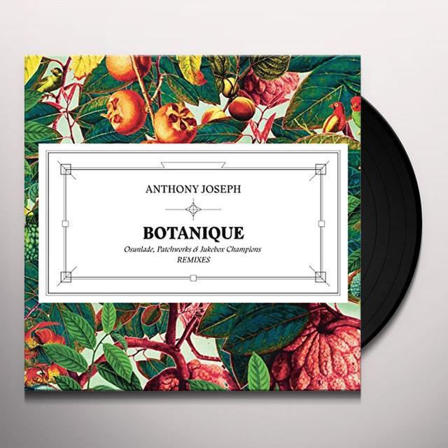 Anthony Joseph BOTANIQUE (OSUNLADE REMIX) Vinyl Record - UK Import