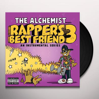Alchemist RAPPER'S BEST FRIEND 3 Vinyl Record