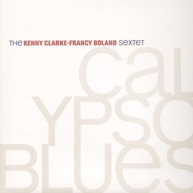 Kenny Clarke & Francy Boland CALYPSO BLUES Vinyl Record