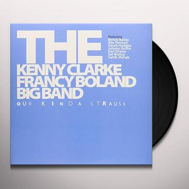 Kenny Clarke & Francy Boland OUR KINDA STRAUSS Vinyl Record