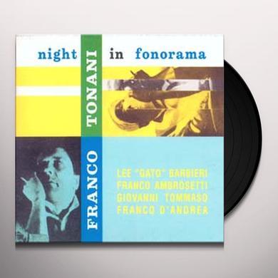 Franco Tonani NIGHT IN FONORAMA Vinyl Record