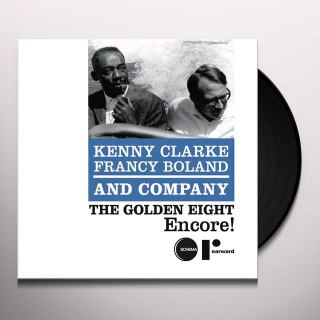 Kenny Clarke & Francy Boland GOLDEN EIGHT-ENCORE Vinyl Record