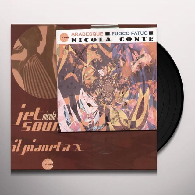 Nicola Conte JET SOUNDS IL PIANETA X Vinyl Record