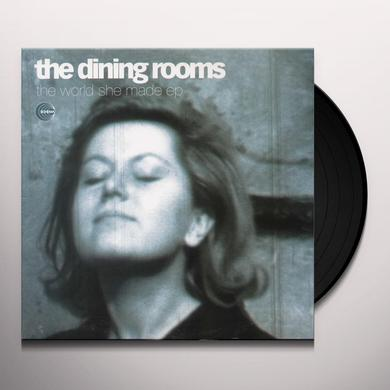 The Dining Rooms WORLD SHE MADE EP Vinyl Record