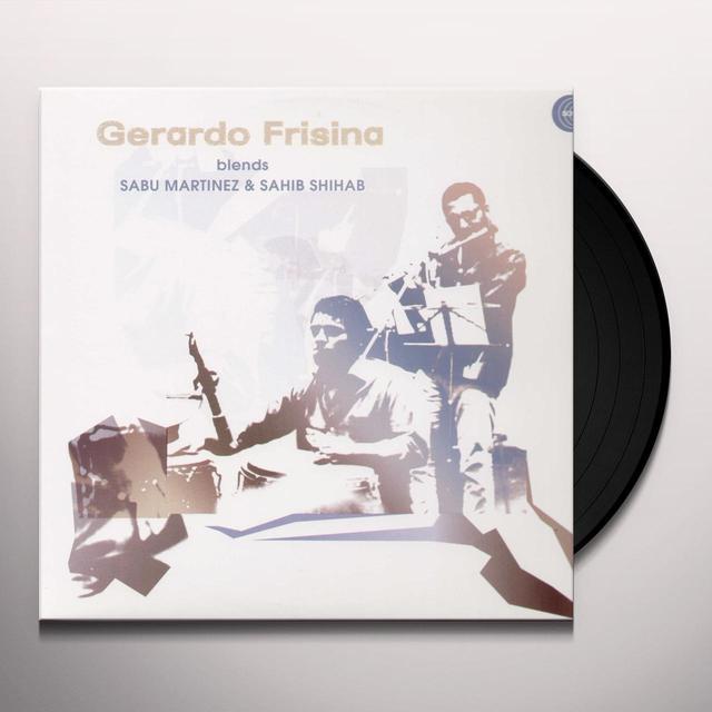 GERARDO FRISINA BLENDS SABU Vinyl Record
