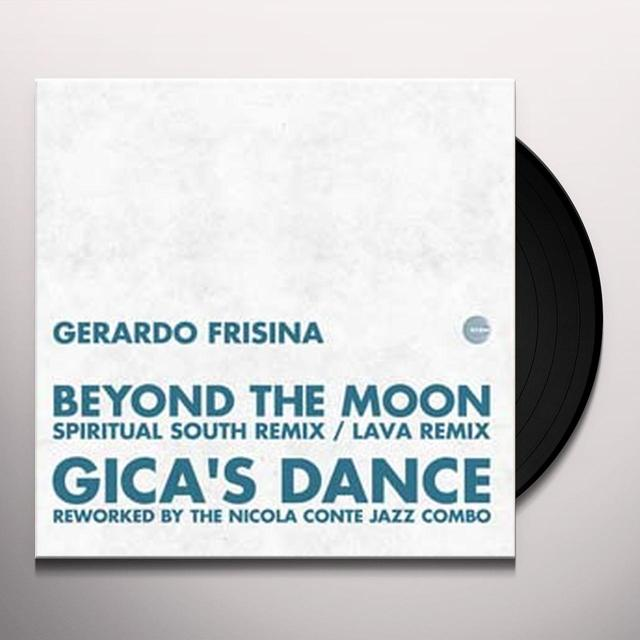 Gerardo Frisina BEYOND THE MOON REMIX Vinyl Record