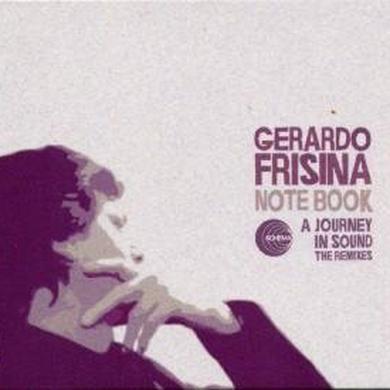 Gerardo Frisina NOTEBOOK-JOURNEY IN SOUND Vinyl Record