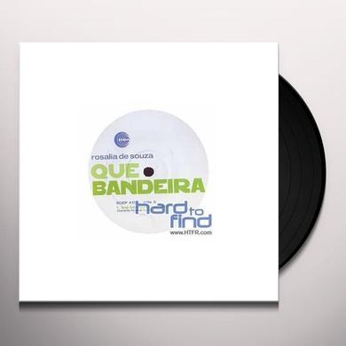 Rosalia De Souza QUE BANDEIRA REMIX BY FRISIN Vinyl Record