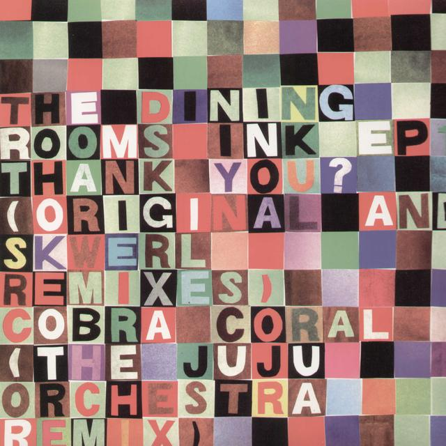 The Dining Rooms INK 1-THANK YOU REMIX B Vinyl Record