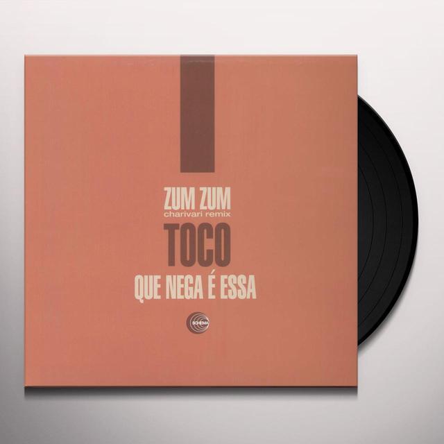 Toco ZUM ZUM REMIX BY CHARIVARI Vinyl Record