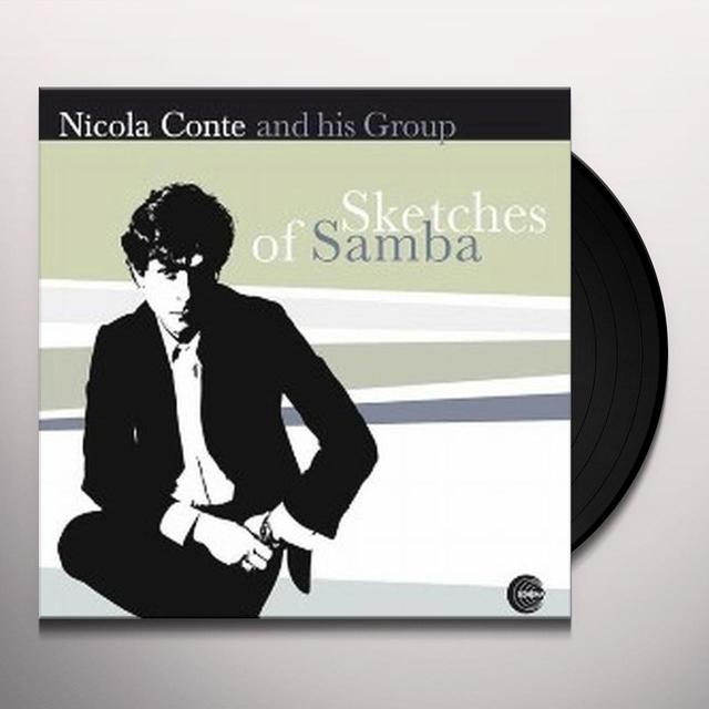 Nicola Conte SKETCHES OF SAMBA Vinyl Record