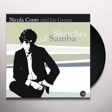 Nicola Conte SKETCHES OF SAMBA Vinyl Record