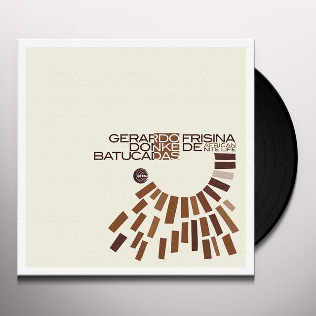 Gerardo Frisina DONKE DE AFRICAN NITE LIFE Vinyl Record