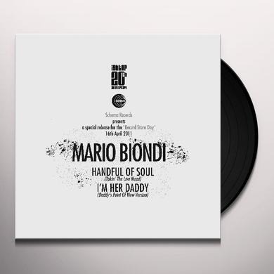 Mario Biondi HANDFUL OF SOUL IM HERE DAD Vinyl Record