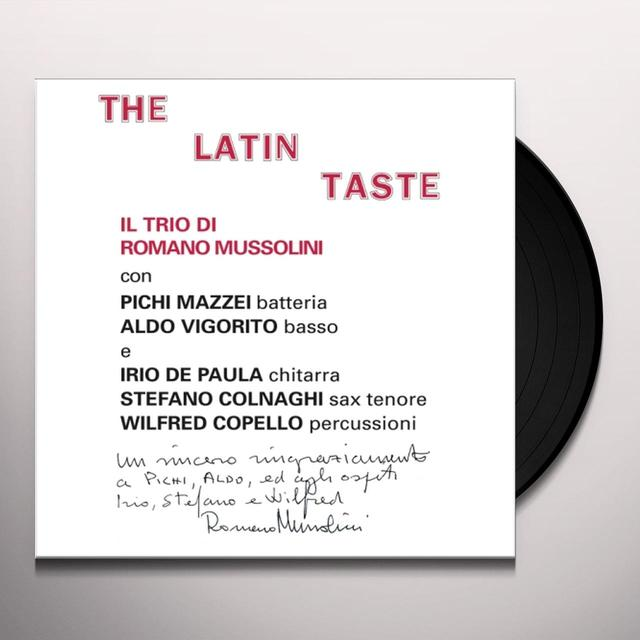 Romano Mussolini LATIN TASTE Vinyl Record