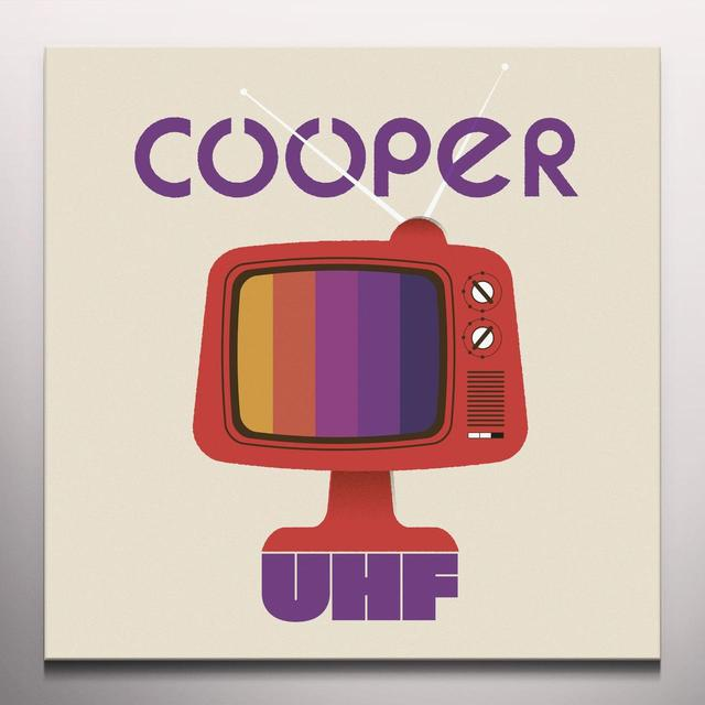 Cooper UHF Vinyl Record - Limited Edition, Purple Vinyl